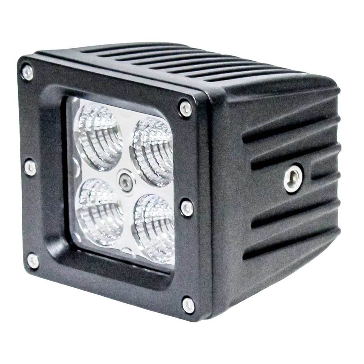 "KM LED 3"" x 3"" Light - Flood Beam"
