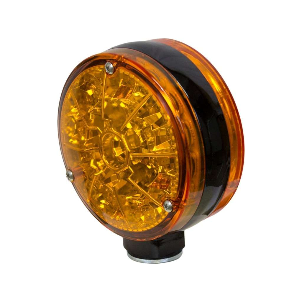 KM LED Double-Sided Flashing Light - Amber