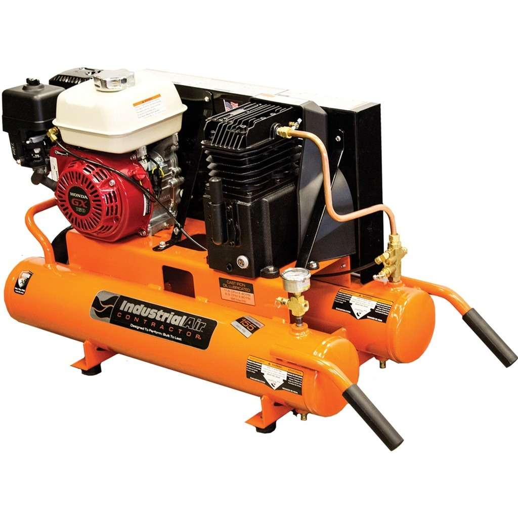 Air Compressor GX160 8 Gallon Wheel Barrow Cl Pump