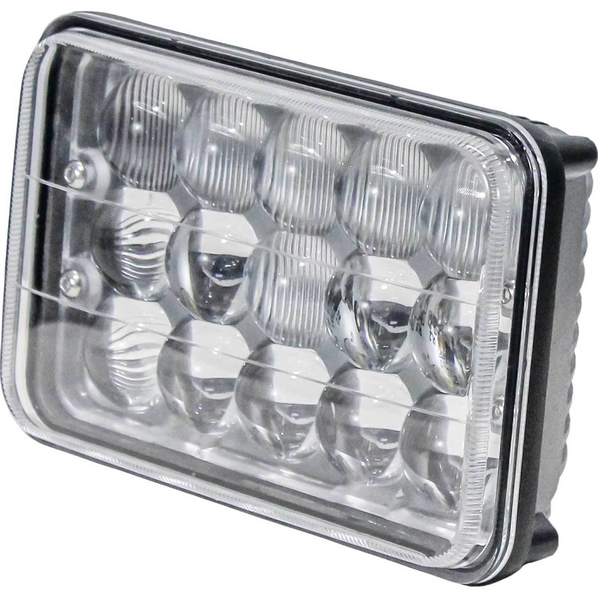 "KM LED 6"" x 4"" Rectangular Light - Hi/Lo"