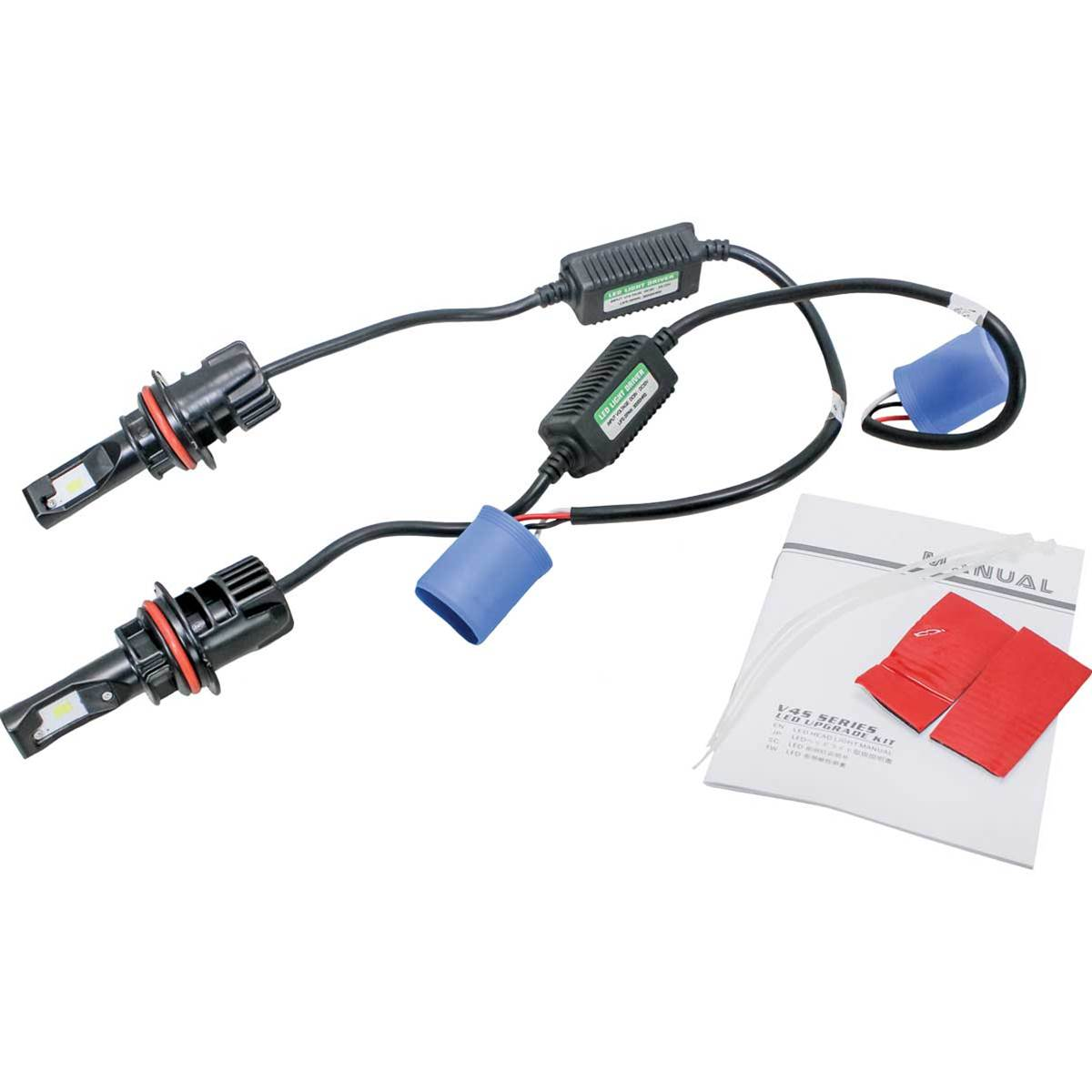 KM LED 9007 Bulb Headlight Conversion Kit - Hi/Lo