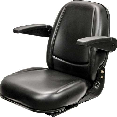 KM 450 Lawn Mower/Skid Steer Seat Assembly