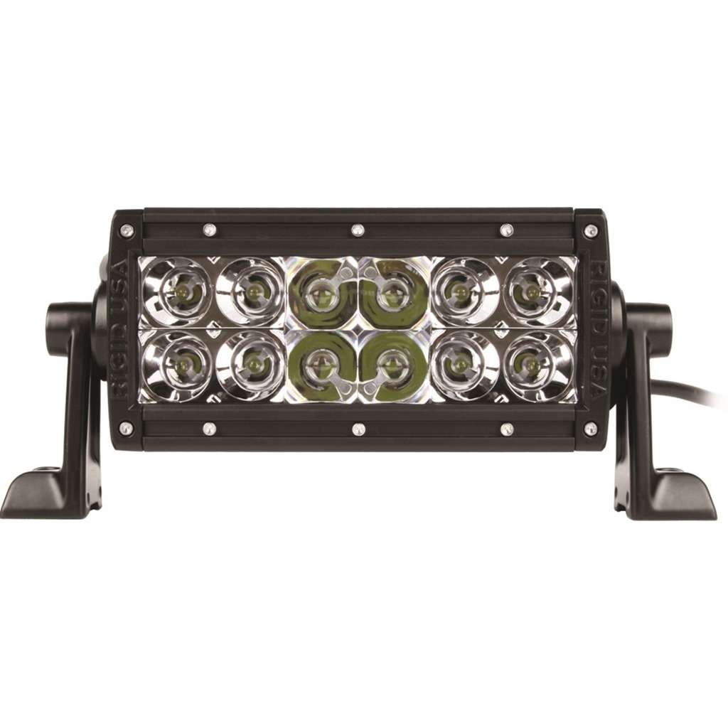 "KM E-Series 6"" LED Spot/Flood Combo Light Bar"