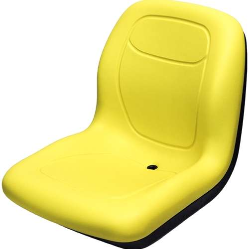For Is New Yellow Premium Replacement High Back Seat With Flip Up Arm Rests To Fit Most John Deere Model M653 M655 M665 717a 727a Zero Turn